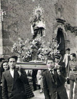 Procesión Virgen de la Rubia
