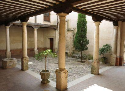 Patio de columnas del Palacio de los Ramírez