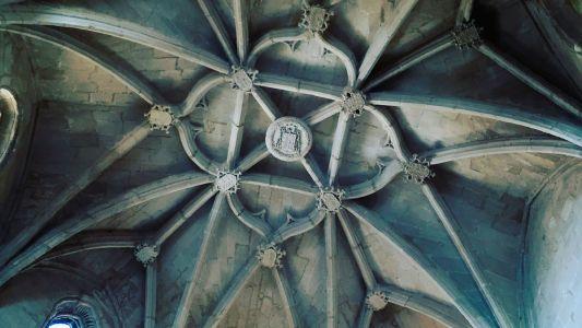 Bóveda estrellada de la capilla de la Asunción
