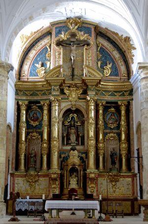 Altar mayor de la Iglesia de San Pedro Apóstol