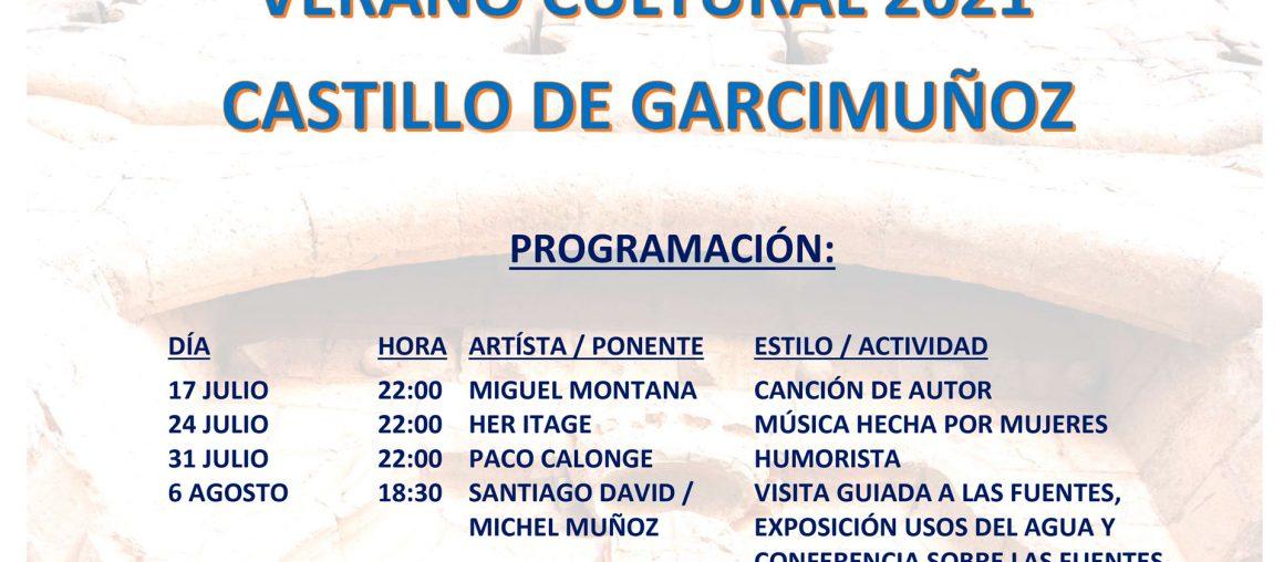 Verano Cultural 2021 Castillo de Garcimuñoz