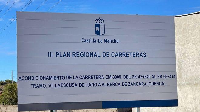 Acondicinamiento CM 3009 Tramo: Villaescusa de Haro a Alberca de Záncara